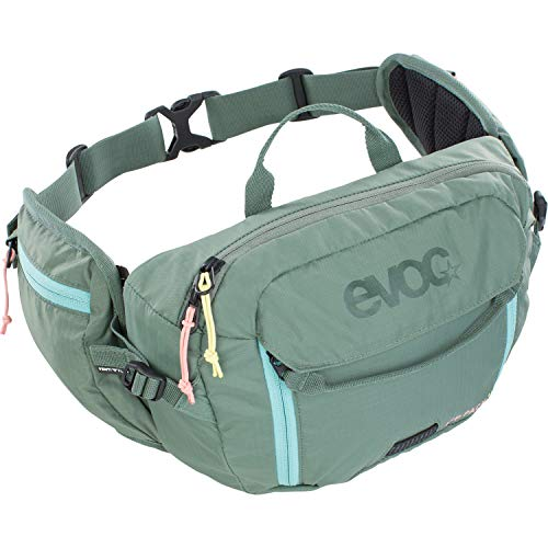 evoc Unisex Hip Pack 3l + 1,5l Bladder Hip Packs, olive, Einheitsgröße