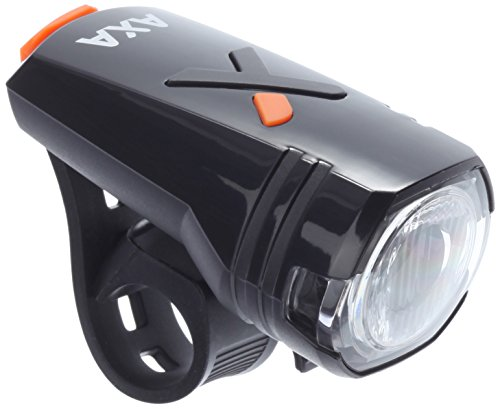 AXA Batteriescheinwerfer Greenline 30, schwarz, 10 x 4 x 3 cm