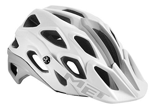 MET Erwachsene Lupo MTB Helmet, Black, 54-58 cm