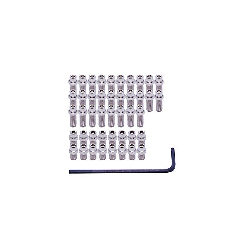 DMR Vault Pedal FlipPin Kit silver