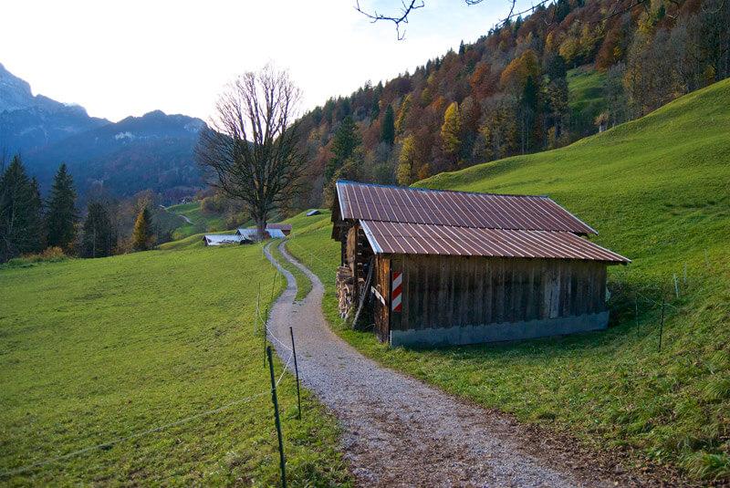Almen vor Garmisch