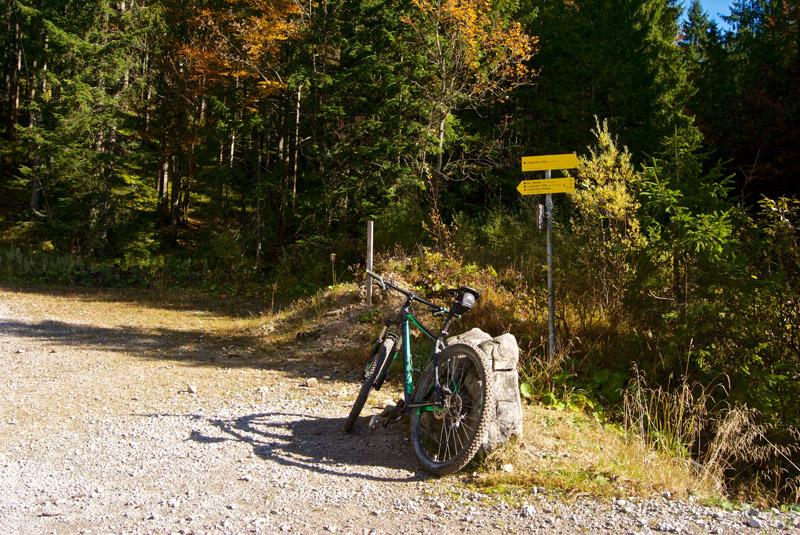 Kreuzug zum Hirschbachsattel