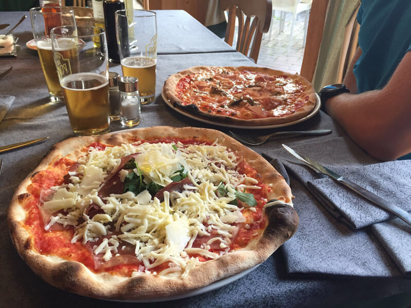 Pizza in Santa Catarina
