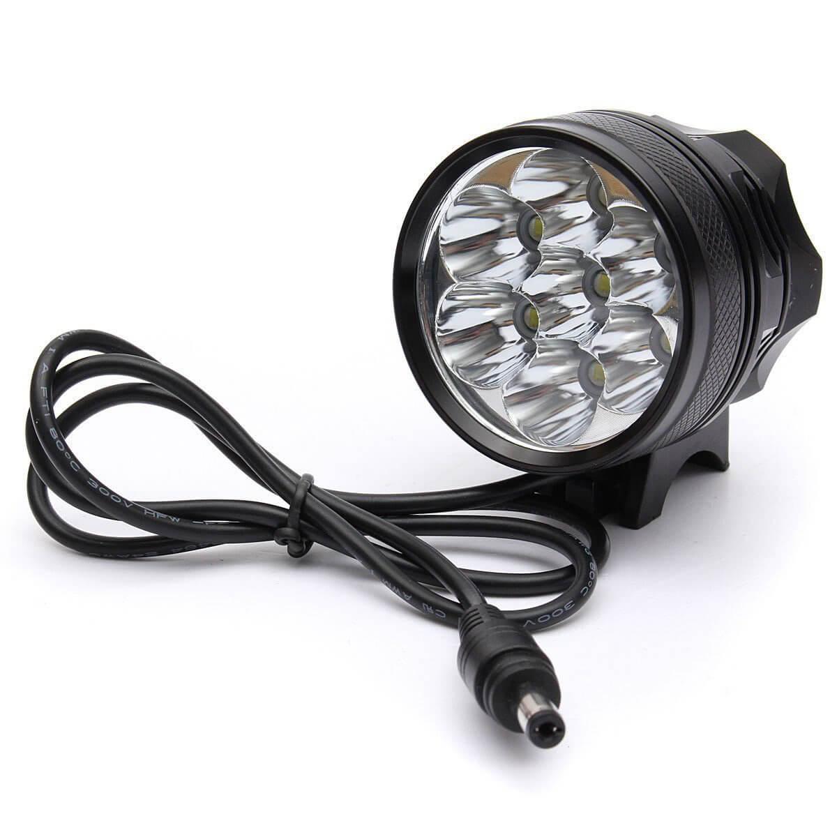 Eariy LED Fahrradlicht, 30000 Lm 12x CREE T6