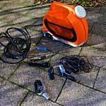 Mobiler Fahrrad Druckreiniger von Red Cycling Products