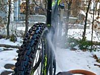 Starker Strahl für die Reifen