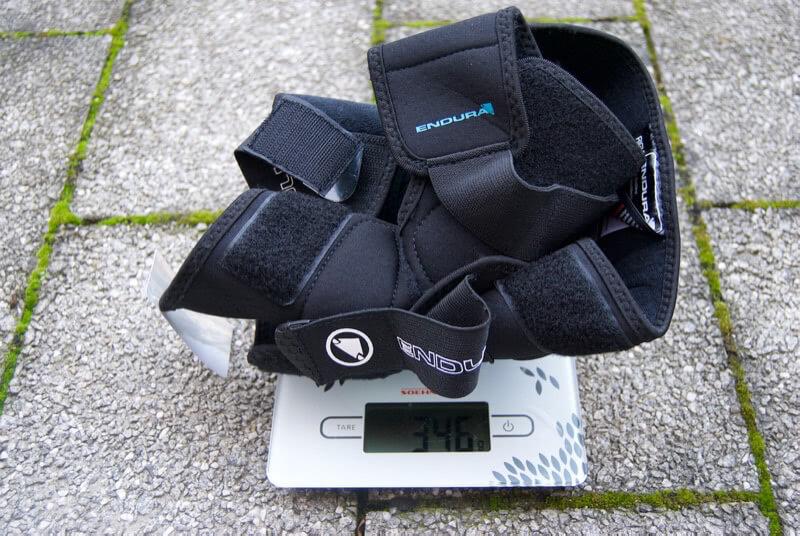 Endura Singletrack Knie Protektor Gewicht