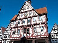Fachwerkhaus am Marktplatz Bad Urach