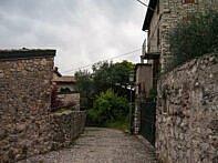 Alte Häuser auf dem Rückweg