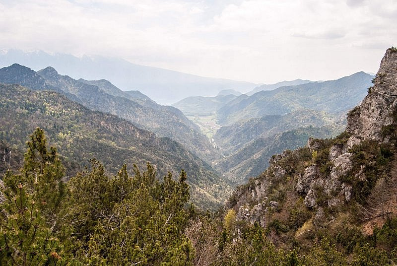 Blick ins Valle di Bondo
