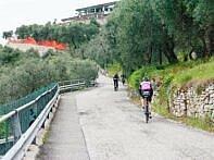 Kurz nach Castelletto di Brenzone