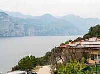 Aussicht von Kurz nach Castelletto di Brenzone