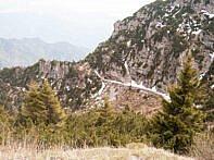 Blick auf einen der Tunnel