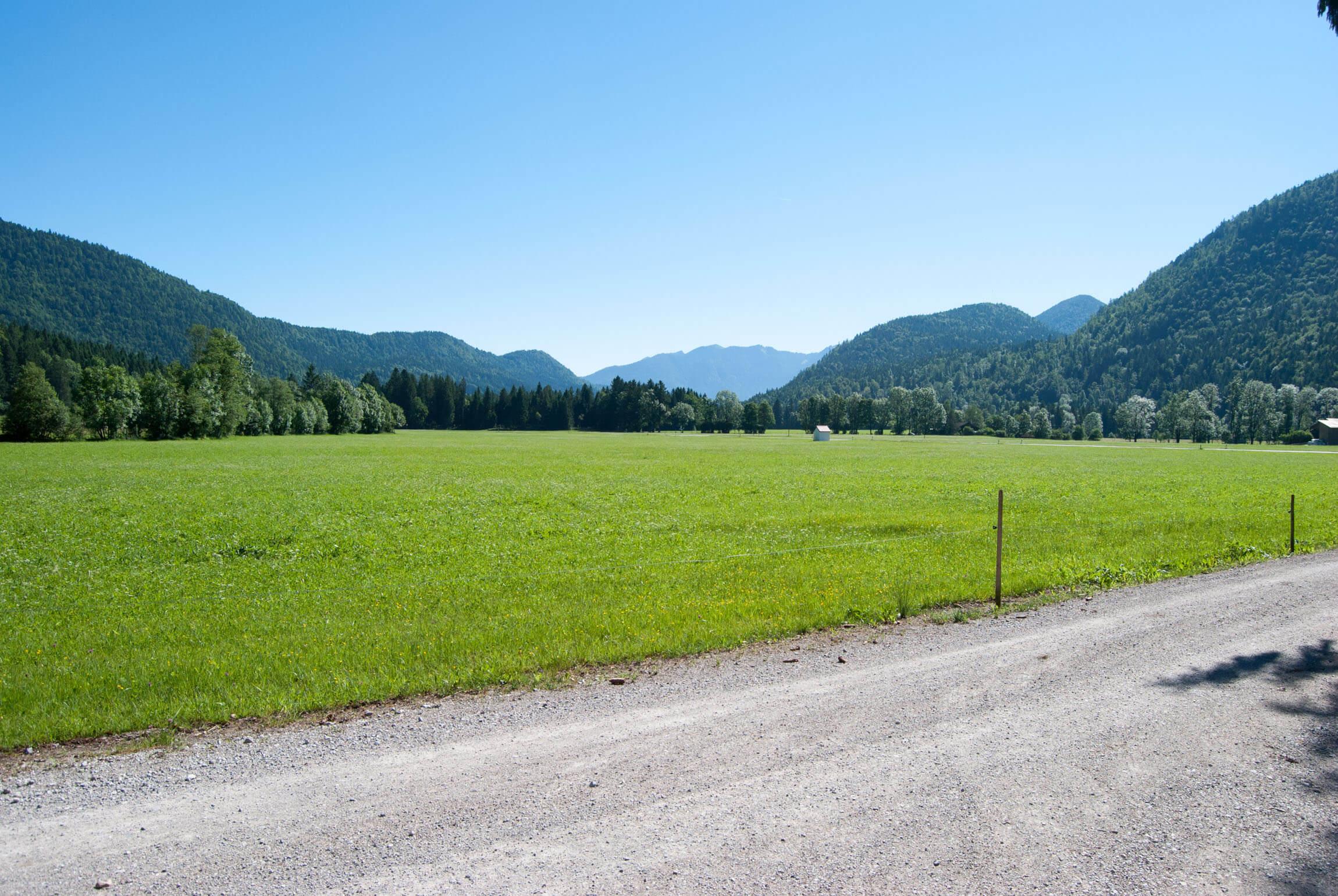 Tourenstart in der Jachenau