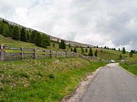 Der Parkplatz an der Plaetzwiese