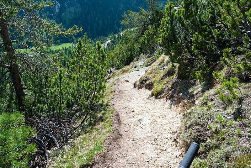 Ausgesetzter Trail