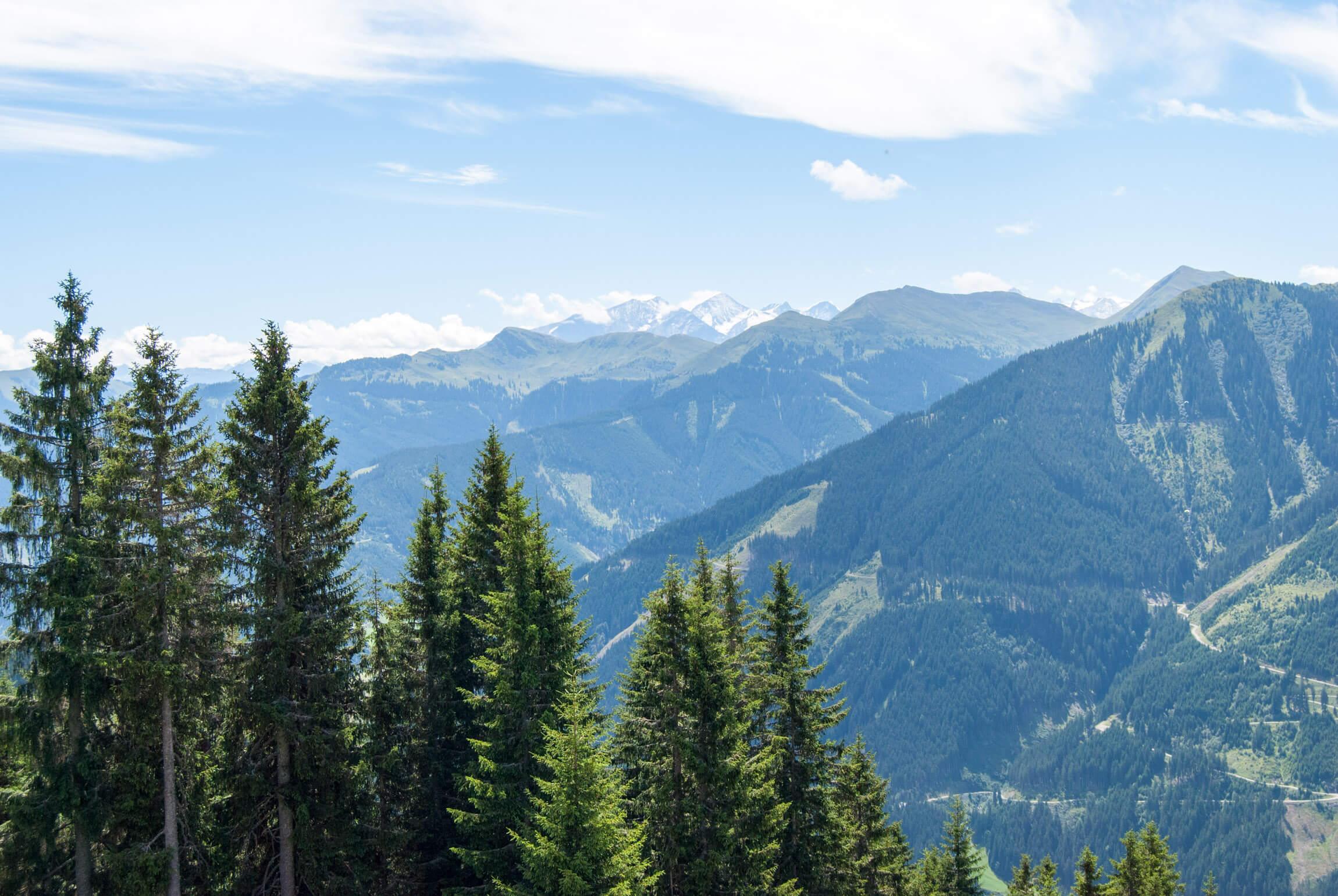 Der Alpenhauptkamm