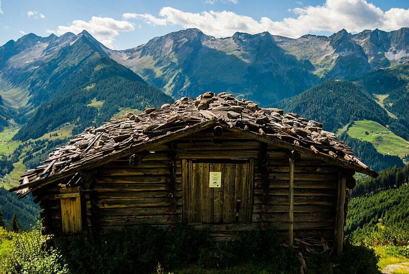 Urige Hütten