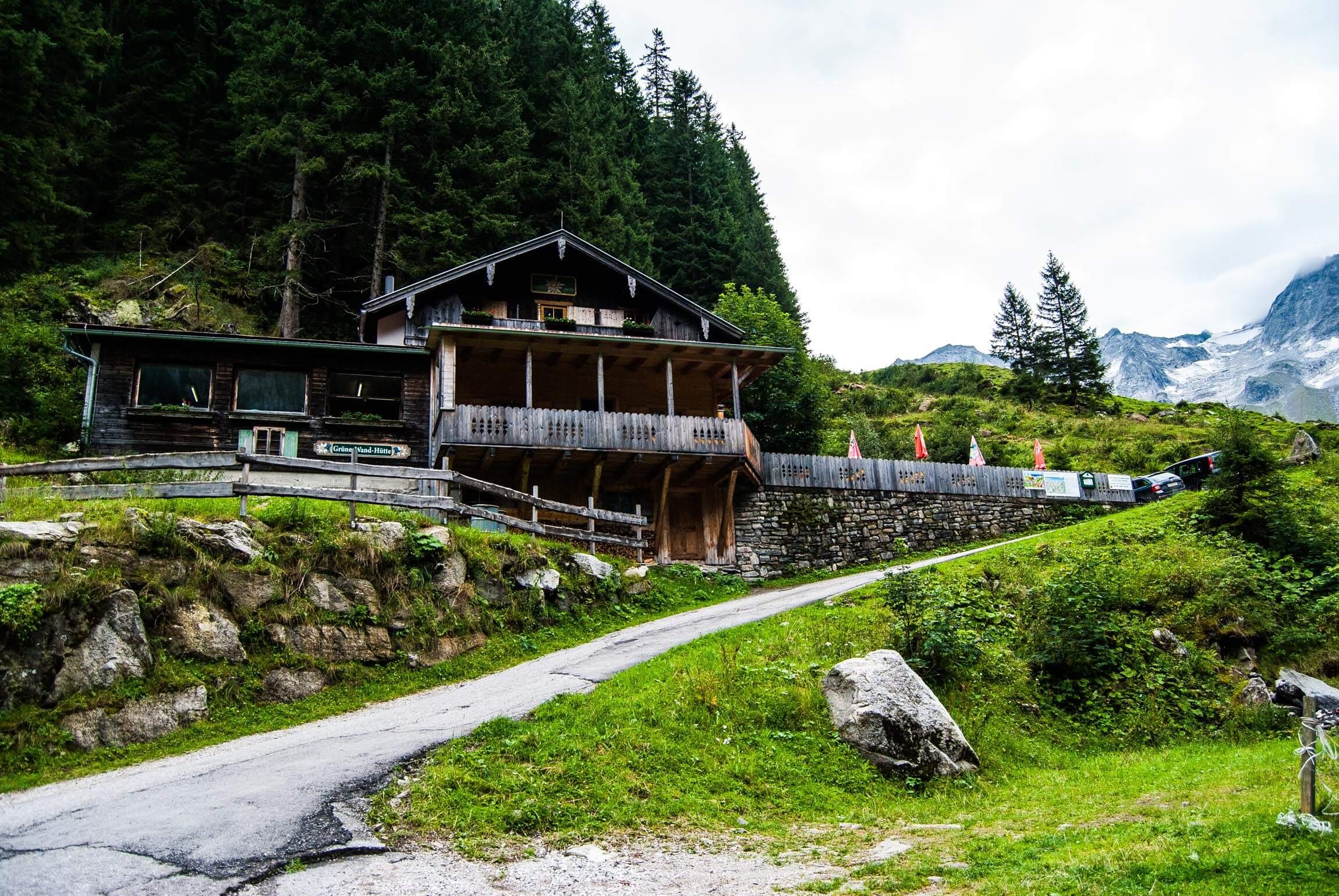 Die Grüne Wand Hütte