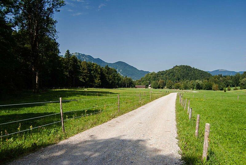 Auf dem Weg zum Hirschbachtal