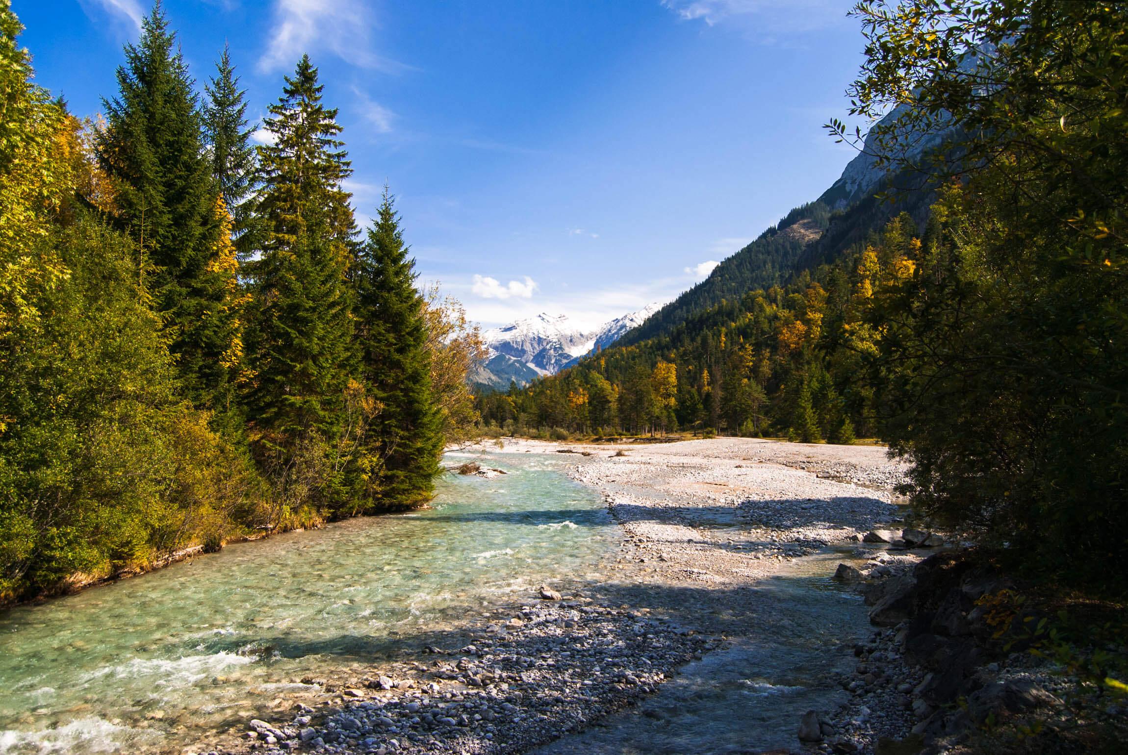 Karwendelrunde im Herbst
