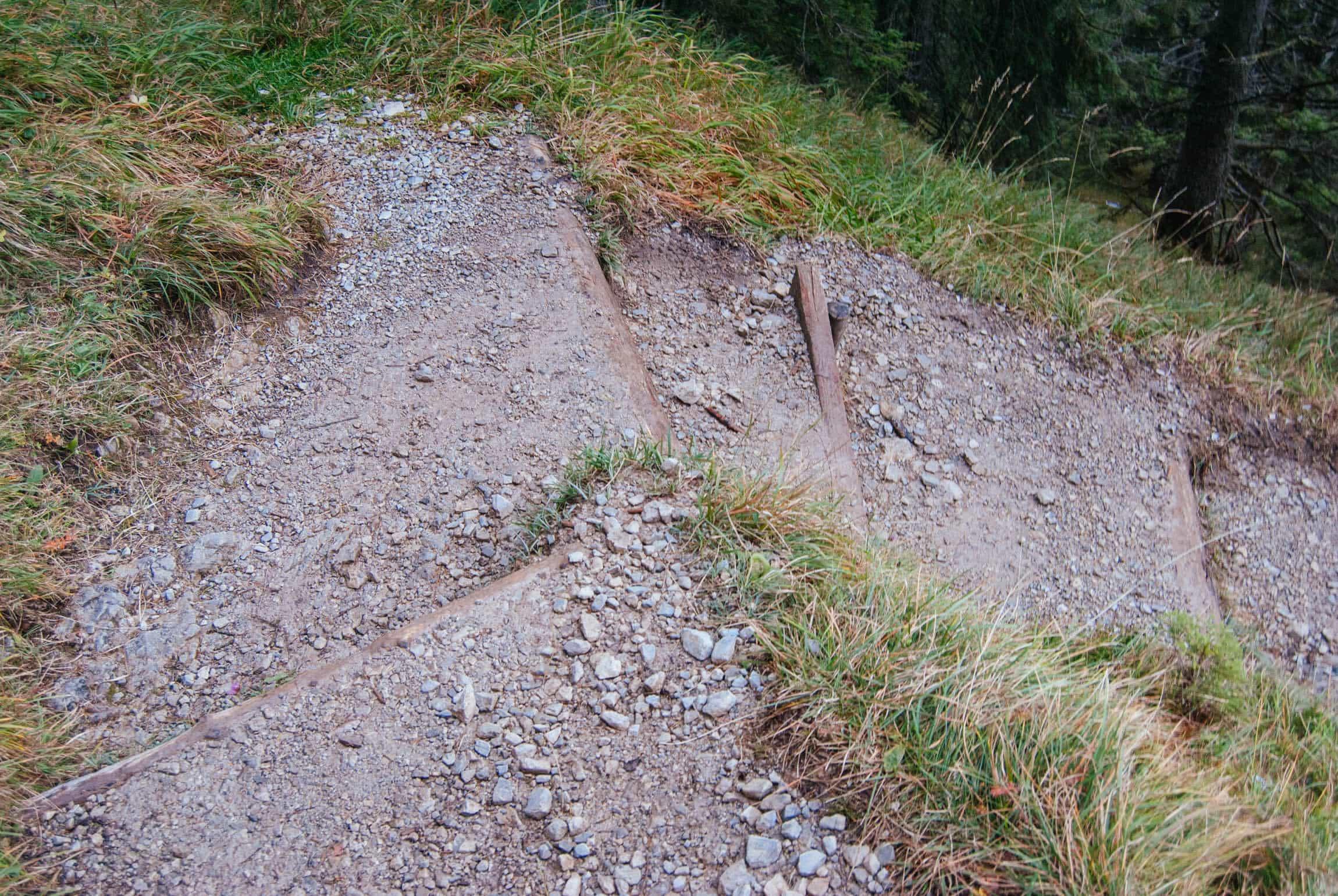 Kurve im Wank-Trail