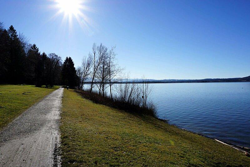 Uferweg am Ammersee