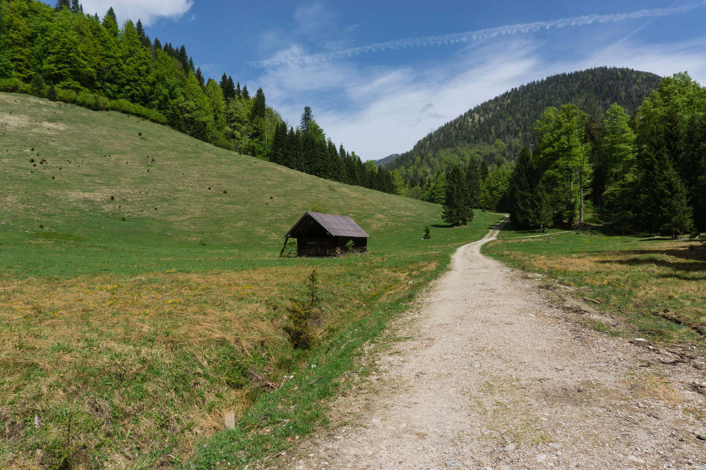 Auffahrt Rabenkopfsattel