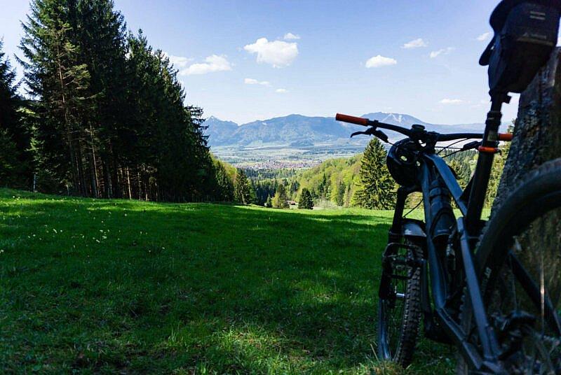 Ausblick auf Ohlstadt