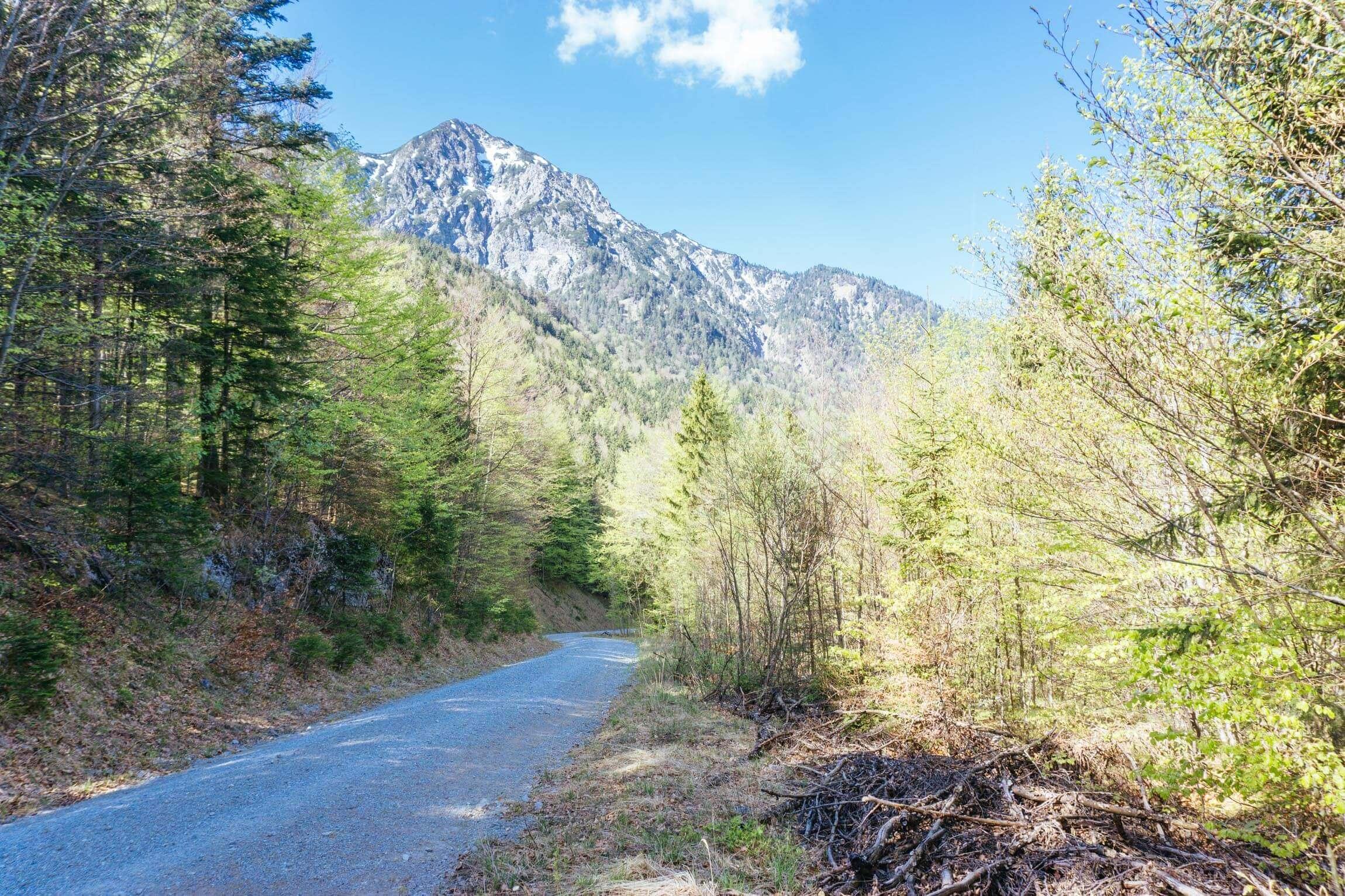 Herzogstandumrundung Mountainbike