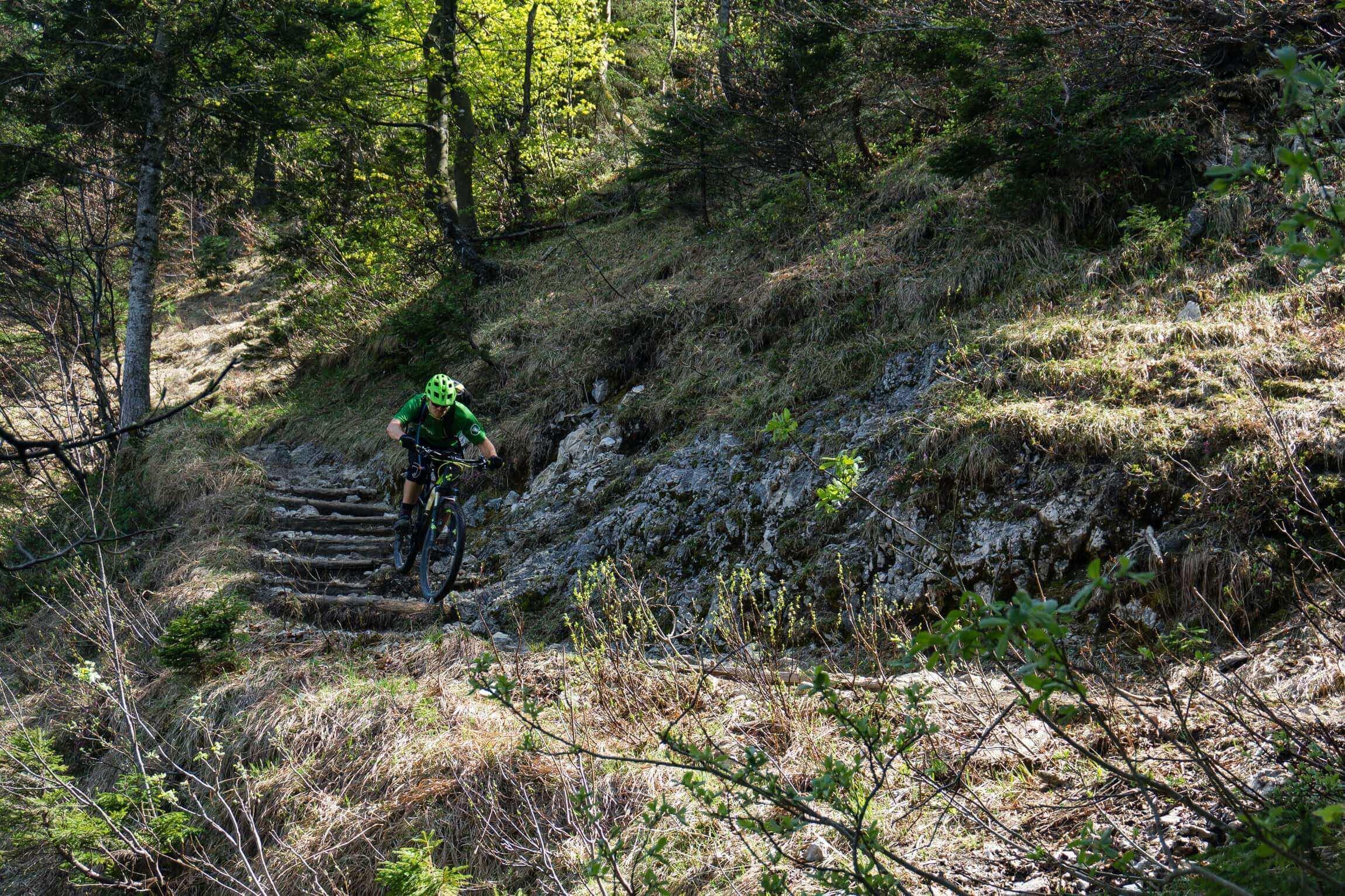 MTB Trail zur Orterer Alm