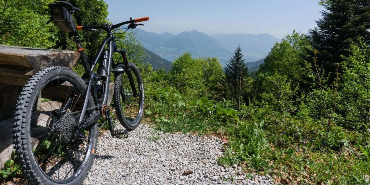 Mit dem Mountainbike um den Rechelkopf
