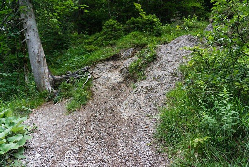 Fels Stufe Trail Schwarzenbach-Tal