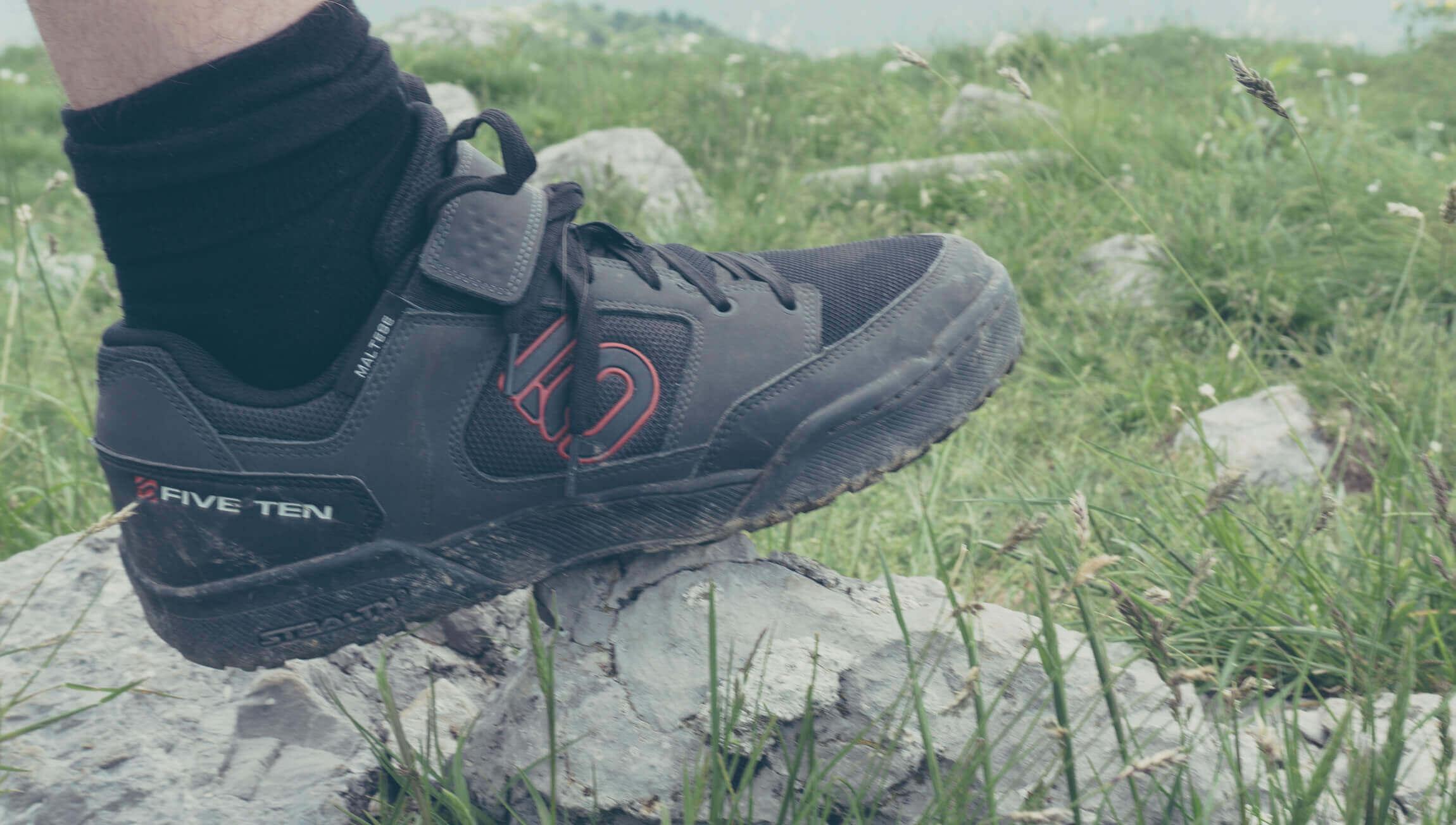Five Ten Maltese Falcon MTB Klick Schuhe im Test   Federweg