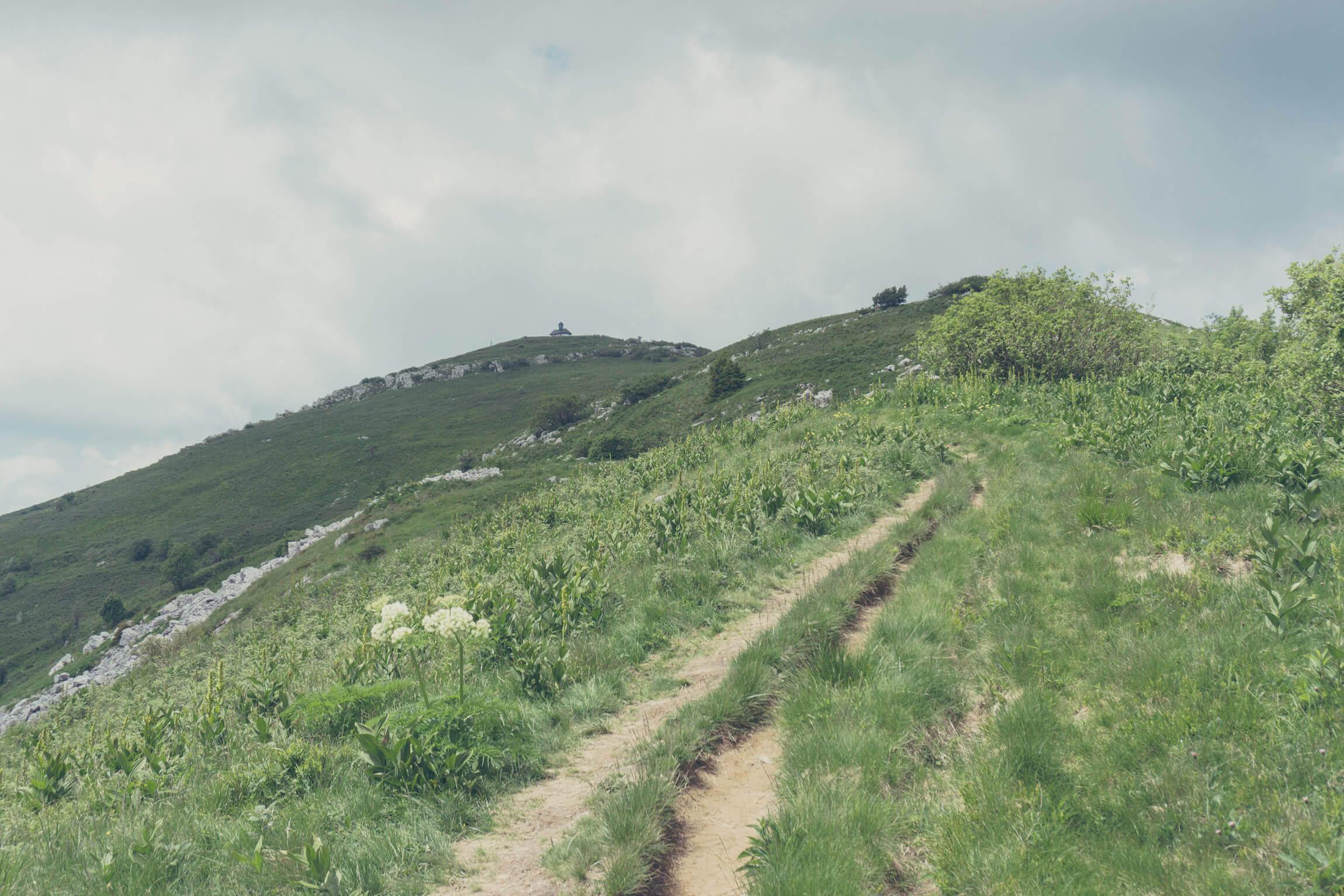 Matajur Gipfel