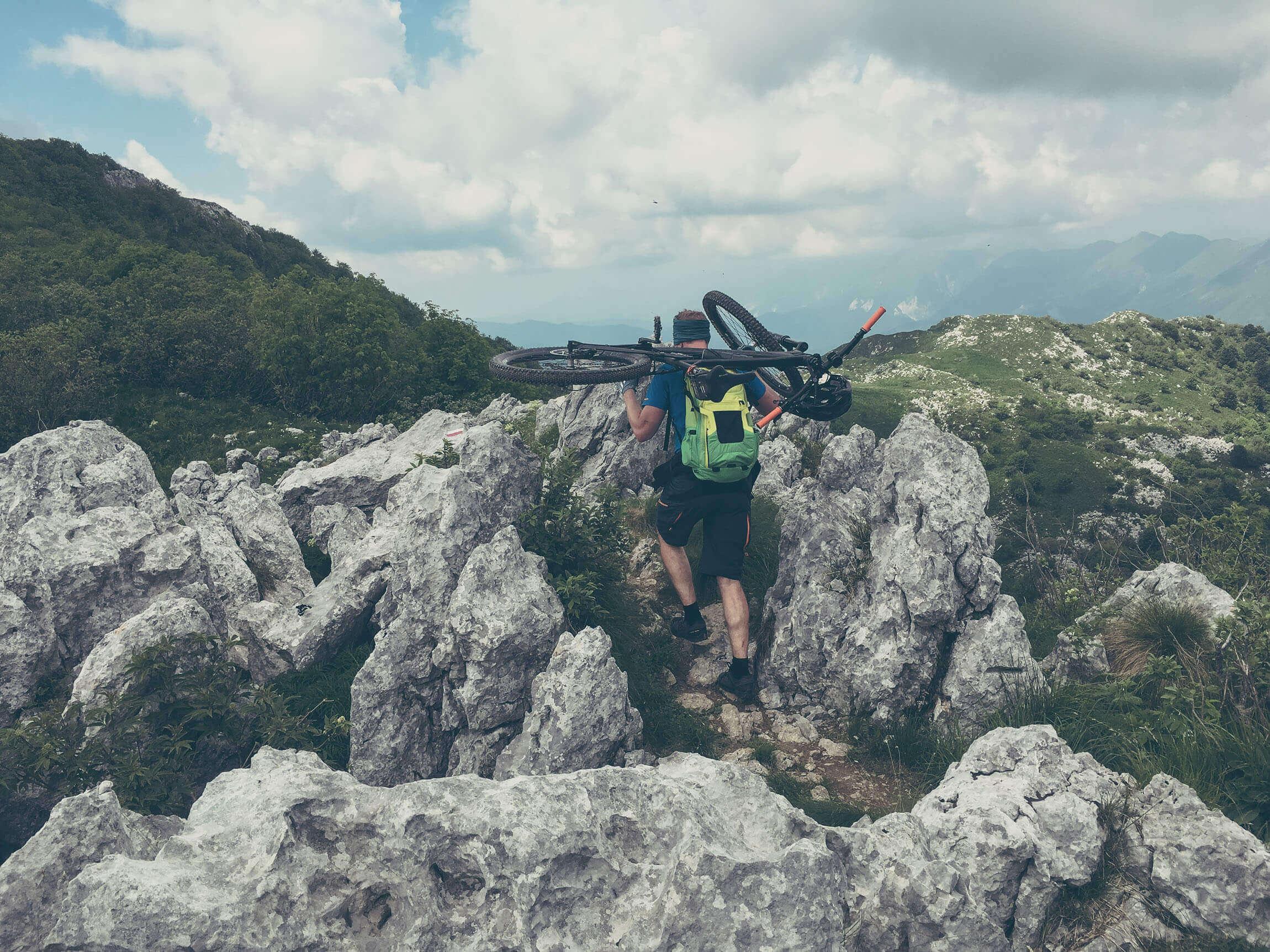 MTB Schuhe Alpencross
