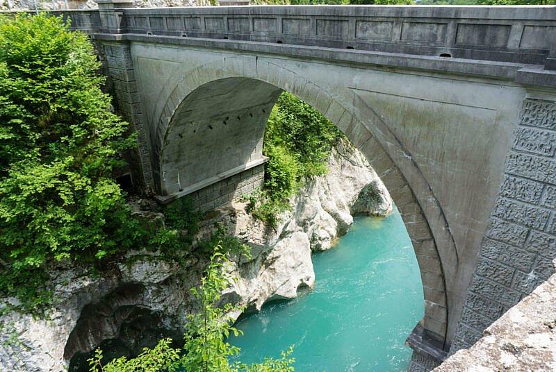 Steinbrücke von Kobarid