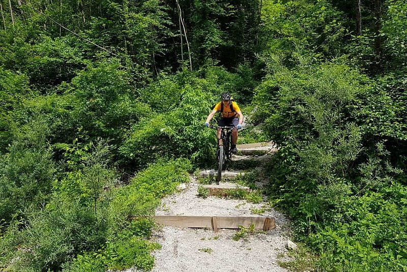 Trail zur Soca