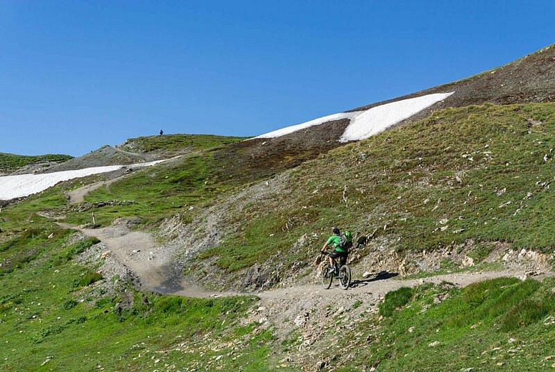 Auffahrt Grand Col Ferret