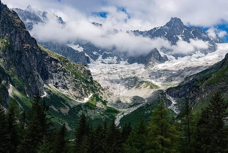 Gletscher La Fouly