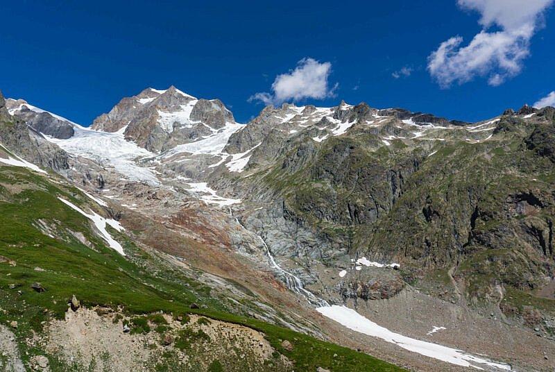 Gletscher Rifugio Elisabetta