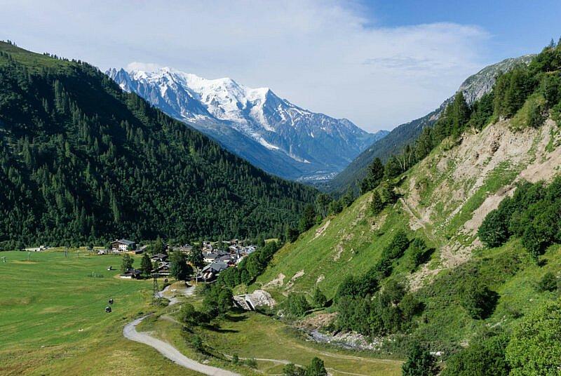Mont Blanc Argentiere