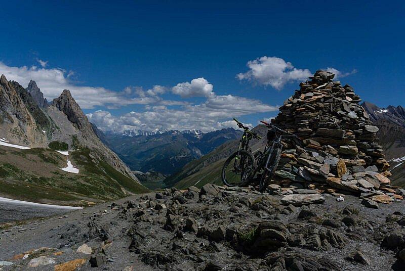 Mountainbikes Col de la Seigne