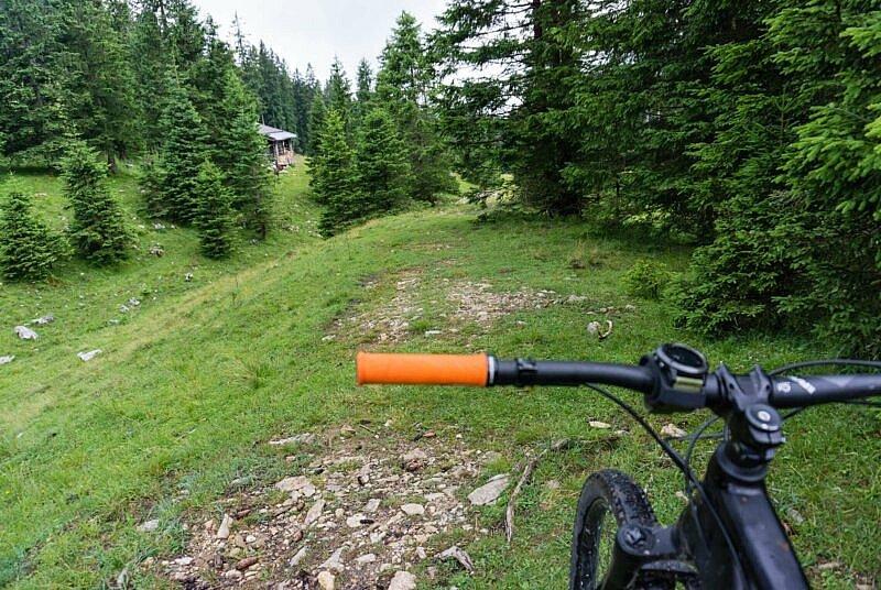 Beginn des Trails nach Ohlstadt