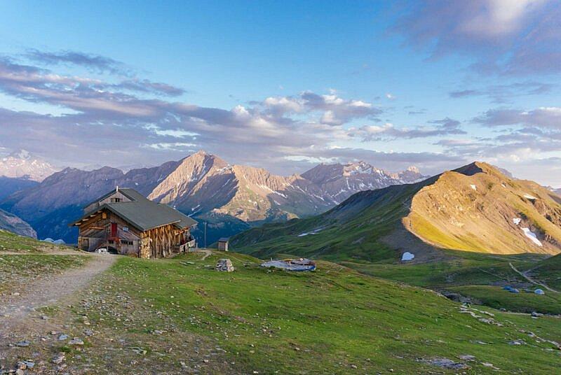Abendstimmung auf der Tour Mont Blanc