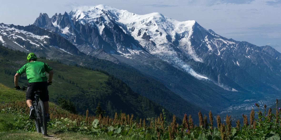 Tour Mont Blanc Mountainbike