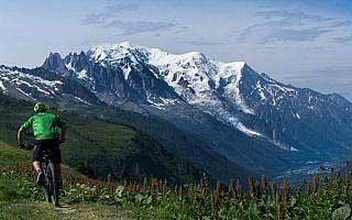 Tour Mont Blanc Mountainbike