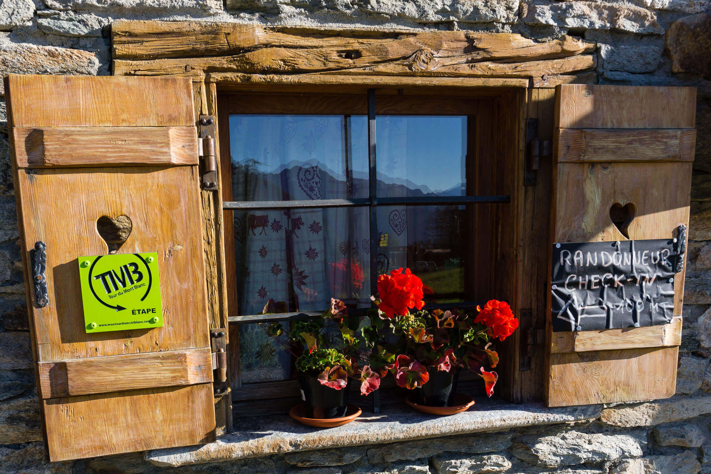 Tour Mont Blanc Unterkunft