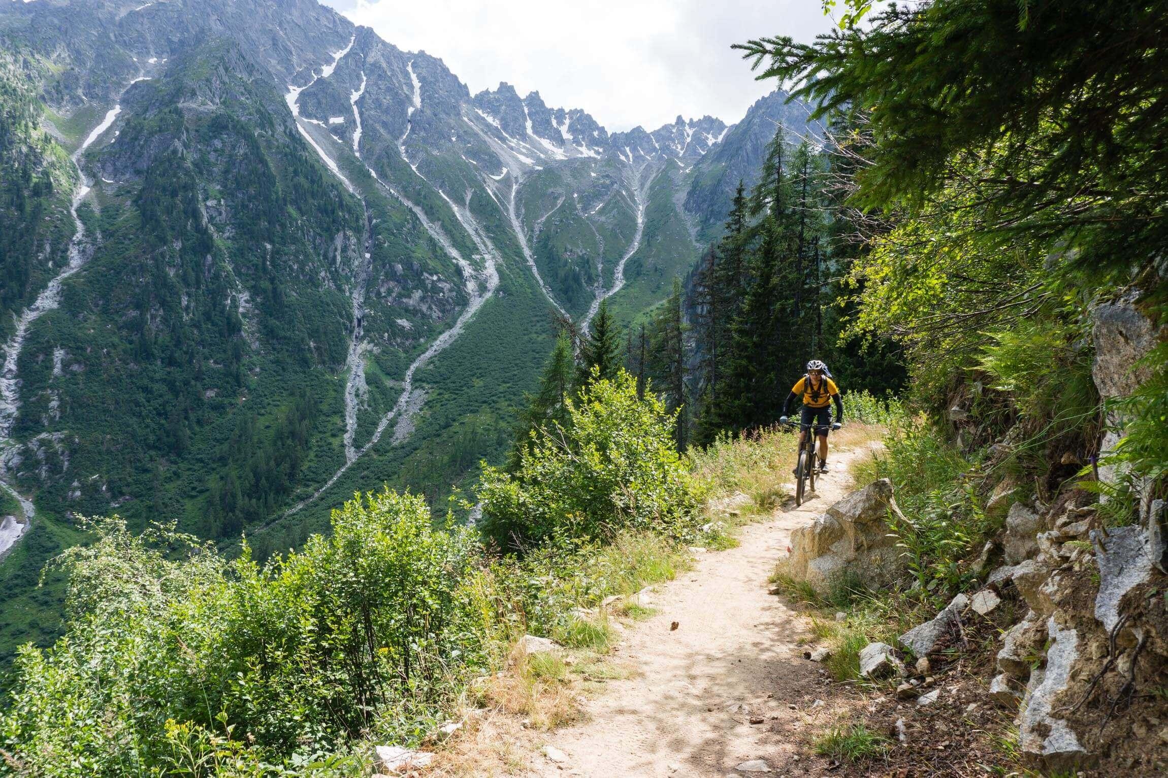 Trail nach Champex