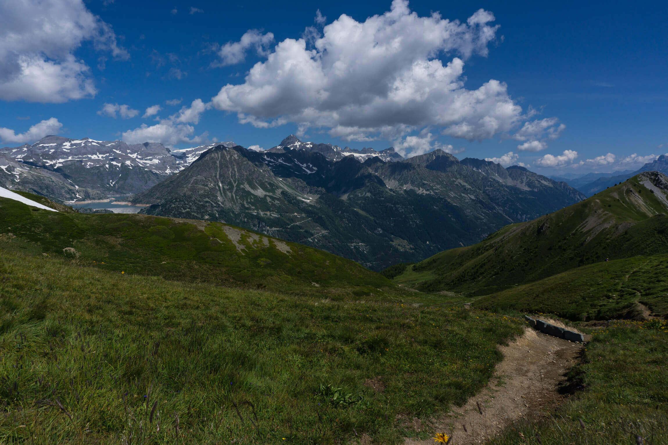 Trail vom Col de Balme